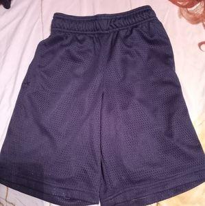 Black Basketball Mesh Shorts